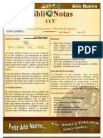 BiblioNotas CCU enero 2011