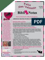 BiblioNotas de Febrero Del 2011