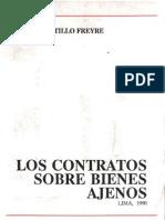 Los Contratos Sobre Bienes Ajenos - Mario Castillo Freyre