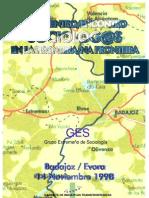 1998 Cartel Encuentro Sociologos en La Frontera