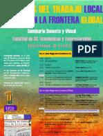 2008 Cartel Seminario Trabajo en La Frontera