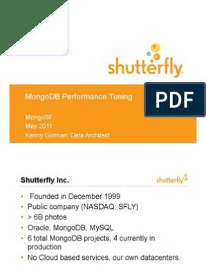 MongoDB Performance Tuning | Mongo Db | Computer Data
