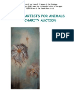 Artists for Animals Catalogue 2008