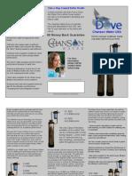 Water Dove Tri-Fold Brochure