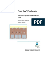 Satcon_PowerGate Plus_PVS 250 Inverter Manual_PM00457R0man (250kW UL_Nov 08)