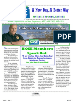 KOSE Newsletter May 2011