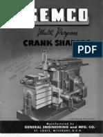 Gemco Metal Shaper Brochure