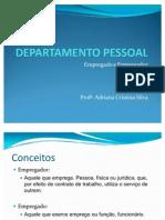 Slide 1 - Empregado e Empregador e Contratação