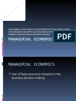 Managerial Economics Ppt