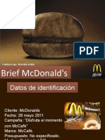 Brief Mcdonalds