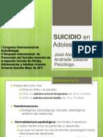 Factores determinantes del SUICIDIO en adolescentes by José Alonso Andrade Salazar
