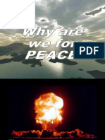 We are for Peace