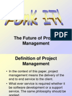 Future of Project Management v0.5