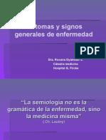 Síntomas y signos generales de enfermedad