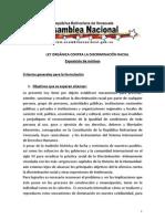 Ley Contra la Discriminación Racial En Venezuela