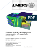 2010-Hermant--Limitations and Improvements for a Beam Tracing Simulation Software Applied to Room Acoustics