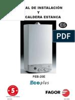 Manual Caldera Fagor CE20E