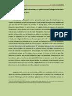 Diferencias entre Mercosur y CAN en la Negociación de la ZLC
