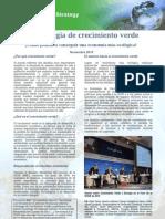 OECD La Estrategia de Crecimiento Verde