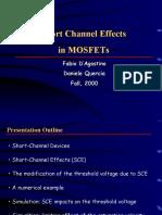 Short Channel Effects