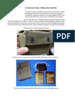 A Long-Term Survival Guide - Military Survival Kits