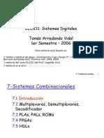 7-Sistemas Combinacionales