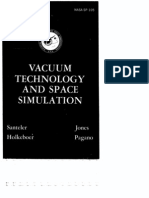Vacuum Technology and Space Simulation NASA Book