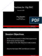 RAC Best Practices - RAC SIG 9Dec05[1]