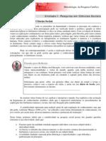 conteúdo pesquisa em ciencia social