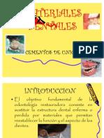 MATERIALES DENTALES 4º EXPOSICION