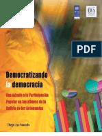 Democratizando la democracia, una mirada a la Participación Popular en los albores de la Bolivia de las autonomías.