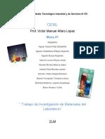 Investigacion de Materiales de Lab Oratorio Clinico