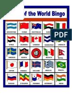 Flags of the World Bingo