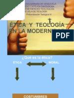 Etica y Teologia. Revisada Expo Sic Ion