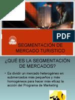 SEGMENTACIÓN DE MERCADO TURISTICO