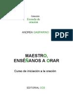 Gasparino Andrea - Maestro Enseñanos A Orar_Catolico