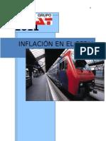 Analisis de La Inflacion en El Peru 1990-2010