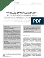 INTERACCIÓN SECUENCIAL DE DOXICICLINA Y RIFAMPICINA