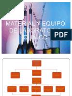 Material y Equipo de Lababoratorio Clinico