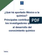 Que Ha Aportado Mexico a La Quimica