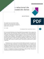El Modelo Relacional de Bases de Datos