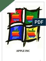 APPLE INC Final Report