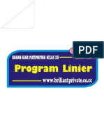 Bahan Ajar Program Linear