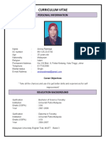Resume Arnina Bt Rahmad-1