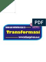 Bahan Ajar Transformasi