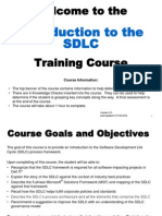 Introduction to the Sdlc