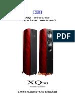 IBJSC.com - KEF XQ30GB Floor Standing Speaker (Single, Gloss Black)