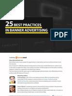 25 Best Practices in Banner Advertising