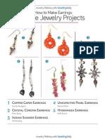 Make Earrings 5 Free Projects
