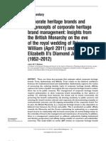 Strategii de PR - Articol Despre Monarhia Britanica
